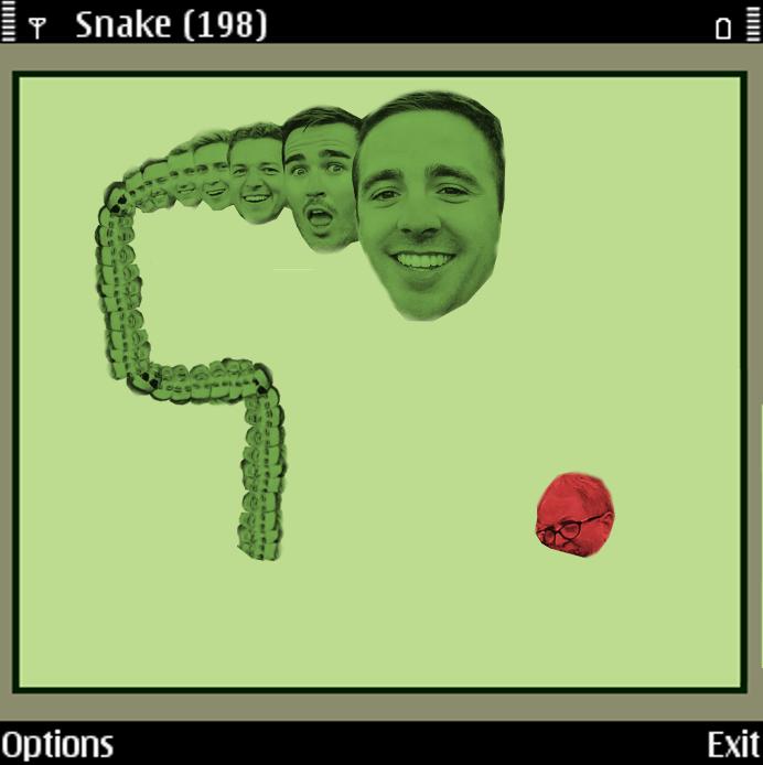 Một gợi ý không tồi cho các nhà thiết kế của trò Snake.