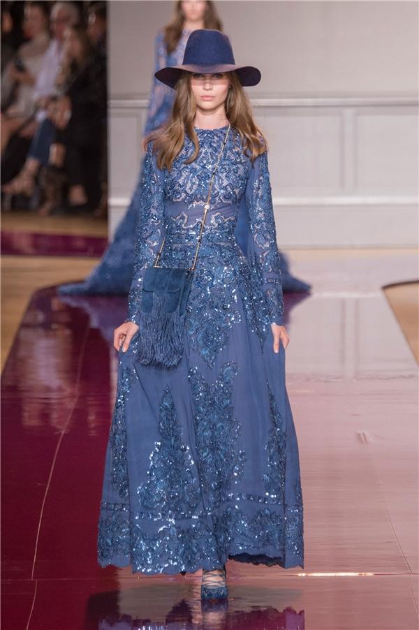 Lóa mắt với những chiếc váy xuyên thấu của Zuhair Murad