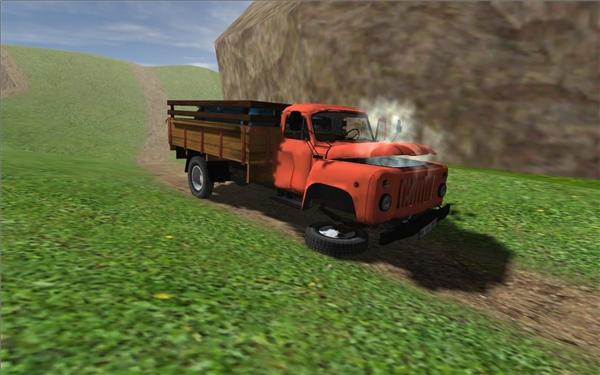 4. Một chiếc xe tải đang đi vào làng thì gặp được bốn chiếc xe hơi trong đó. Hỏi có bao nhiêu xe đến làng?(Ảnh Internet)