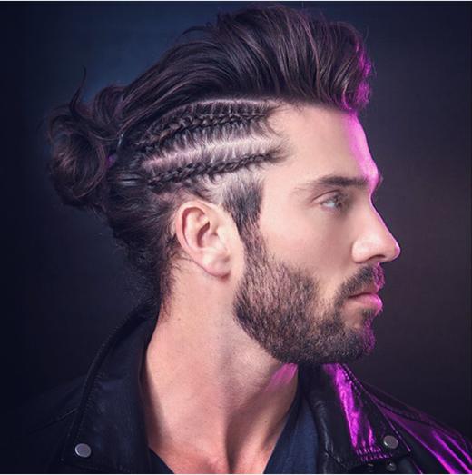 Tóc bím: xu hướng tóc nam