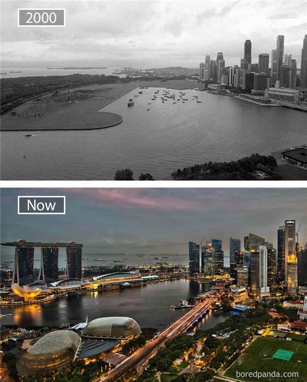"""Bên cạnh Hàn Quốc thì câu chuyện """"lột xác"""" của Singapore cũng là một kinh nghiệm điển hình về sự phát triển thành công của một quốc gia trong thế kỉ 20.(Ảnh: Bored Panda)"""