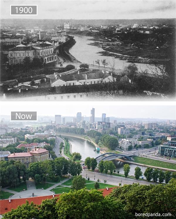Mặc dù giờ đây đã được hiện đại hóa khá nhiều nhưngThủ đô văn hóa châu Âu năm 2009 - thành phố Vilnius -vẫn khiến bao người ngỡ ngàng vì vẻ đẹp cổ kính điển hình châu Âu.(Ảnh: Bored Panda)