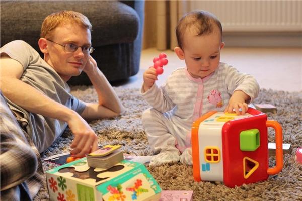 Anna-cô con gái bé nhỏ, xinh xắn củaThu Ngânvà Simon.(Ảnh: NVCC)