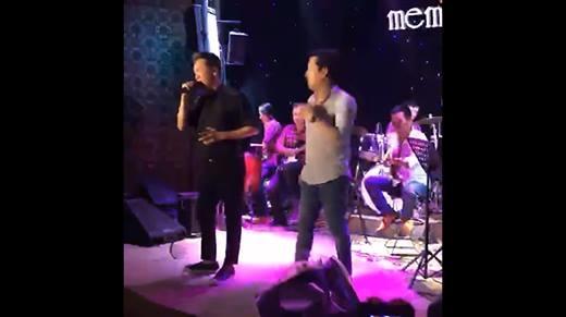Trường Giang song ca cùng Mr.Đàm khiến khán giả phấn khích