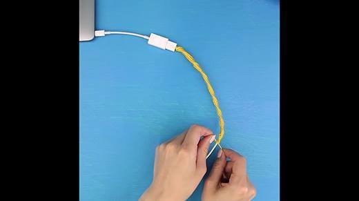 Mẹo làm mới và bảo quản dây sạc điện thoại cực hay ho