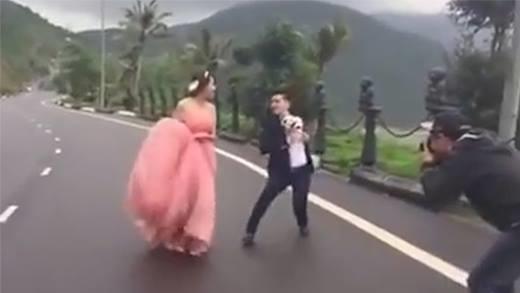Những cảnh hậu trường ảnh cưới