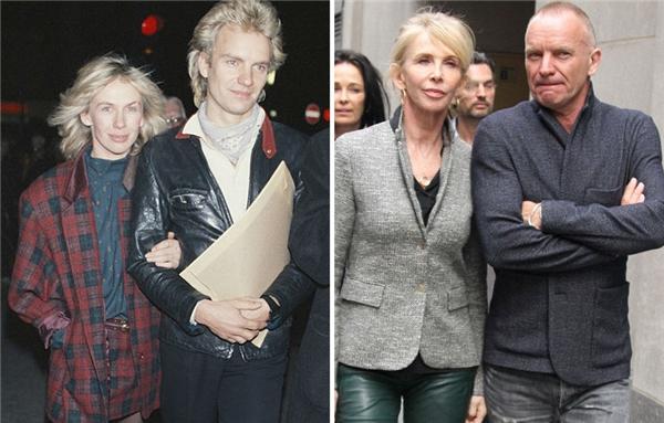 Kết tinh 34 năm vợ chồng của Sting và Trudie chính là 4 đứa con xinh đẹp và tài giỏi. (Ảnh: Georges De Keerle)