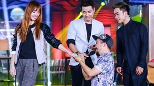 Trước Trấn Thành, Tiến Đạt cũng đã cầu hôn Hari Won từ 1 năm trước