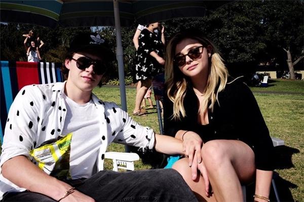Brooklyn Beckham và bạn gái - nữ diễn viênChloe Grace Moretz. (Ảnh:Instagram NV)