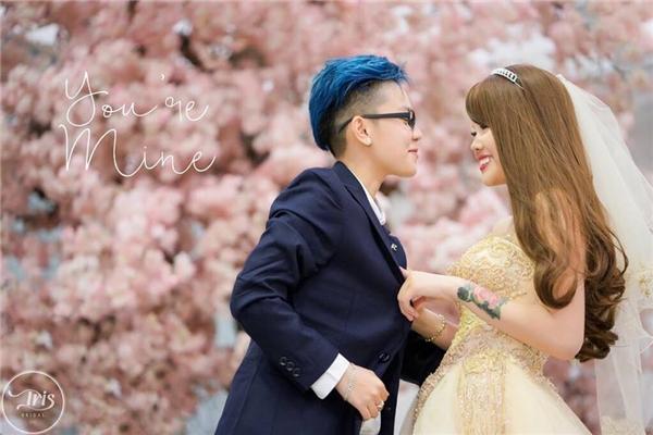 Mới đây cặp đôi này còn chụp một bộ ảnh cưới vô cùng đẹp và lãng mạn.(Ảnh: Internet)
