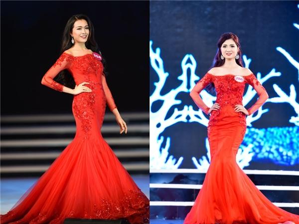 Thí sinh Hoa hậu Việt Nam bị phát hiện diện váy nhái Taylor Swift
