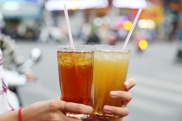 Nước sâm chính là thức uống phù hợp nhất với các loại quà vặt.