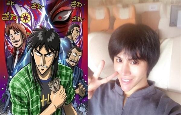 Nhiều người nhận xét khuôn mặt Allen giốngnhư nhân vật Kaiji Ito trong bộ truyện Gyakkyou Burai Kaiji.