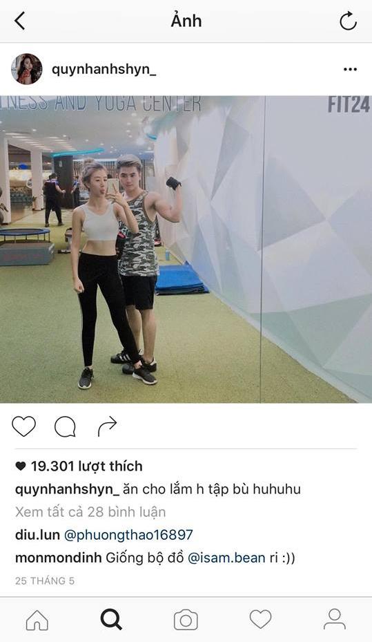 """Tấm ảnh hai người chụp chung được nàng hot girl đăng tải cũng đã gần 2 tháng. Theo nhiều nguồn tin cho biết, Quỳnh Anh Shyn xoá gầnhết hình của Will. Đây có lẽ là dấu hiệu cho việc """"đường ai nấy đi"""" của cặp đôi này? - Tin sao Viet - Tin tuc sao Viet - Scandal sao Viet - Tin tuc cua Sao - Tin cua Sao"""