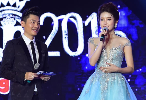 Huyền Mynhắn nhủcác thí sinh Hoa hậu Việt Nam 2016 cố gắng thể hiện thật tốt trên sân khấu để gặt hái thành tích cao.