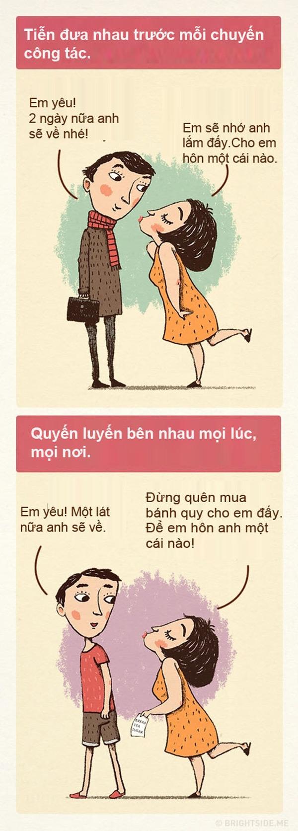 9 bí kíp đáng học hỏi ở các cặp đôi hạnh phúc