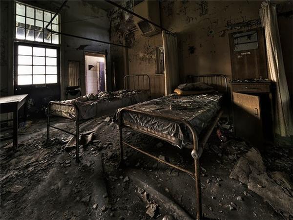 Bệnh viện tâm thần Cane Hill.