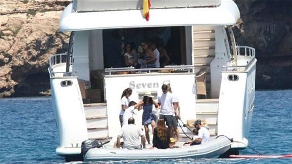 Du thuyền của Messi và gia đình. (Ảnh: internet)