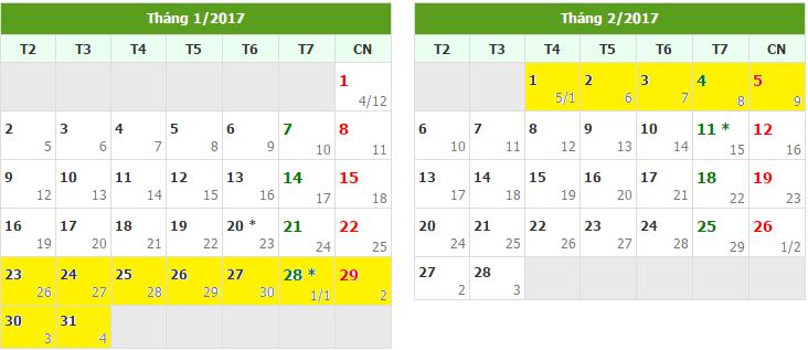Học sinh trên toàn thành sẽ được nghỉ Tết 14 ngày.