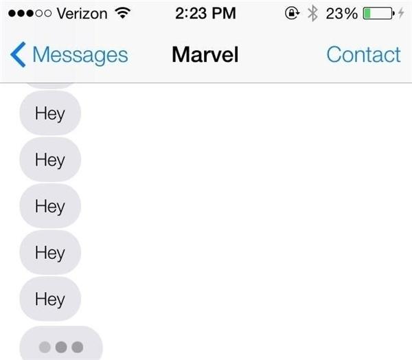 Chắc bạn sẽ phát điên với kiểu nhắn tin này. (Ảnh: internet)