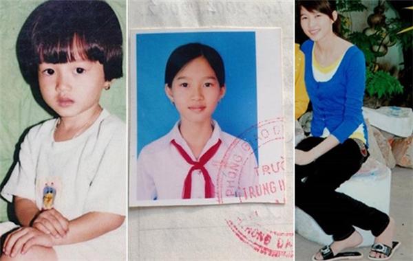 Thuở thơ ấu, Đặng Thu Thảo đã có gương mặt bầu bĩnh, đáng yêu. Tuy nhiên, ở giai đoạn là cô thiếu nữ, Hoa hậu Việt Nam 2012 trông kháthanh mảnh vànụ cười trong trẻo. - Tin sao Viet - Tin tuc sao Viet - Scandal sao Viet - Tin tuc cua Sao - Tin cua Sao