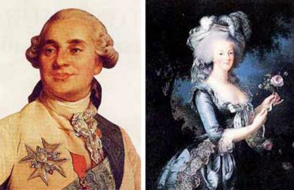 Đức vua Louis XVI và hoàng hậu Marie Antoinette đã chết dưới lưỡi máy chém.