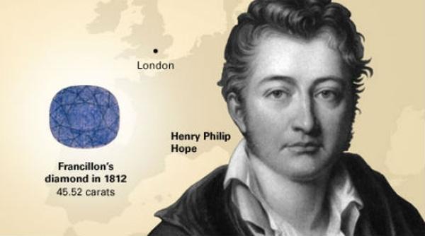 Gia tộc của Henry Philip Hopeđã lụi tàn và chết trong cảnh nghèo đói.