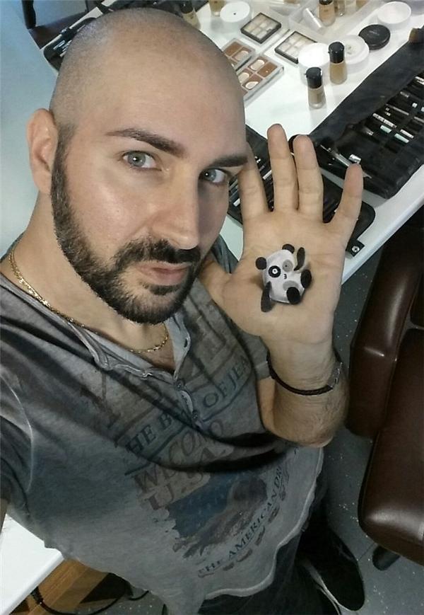 Thợ xăm kiêm chuyên viên trang điểm người Ý - Luca Luce. (Ảnh: Luca Luce)