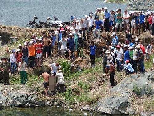 Chính vì vậy những vụ phát hiện xác chết như thế này ở Hồ Đá thường xuyên xảy ra. Ảnh: Internet