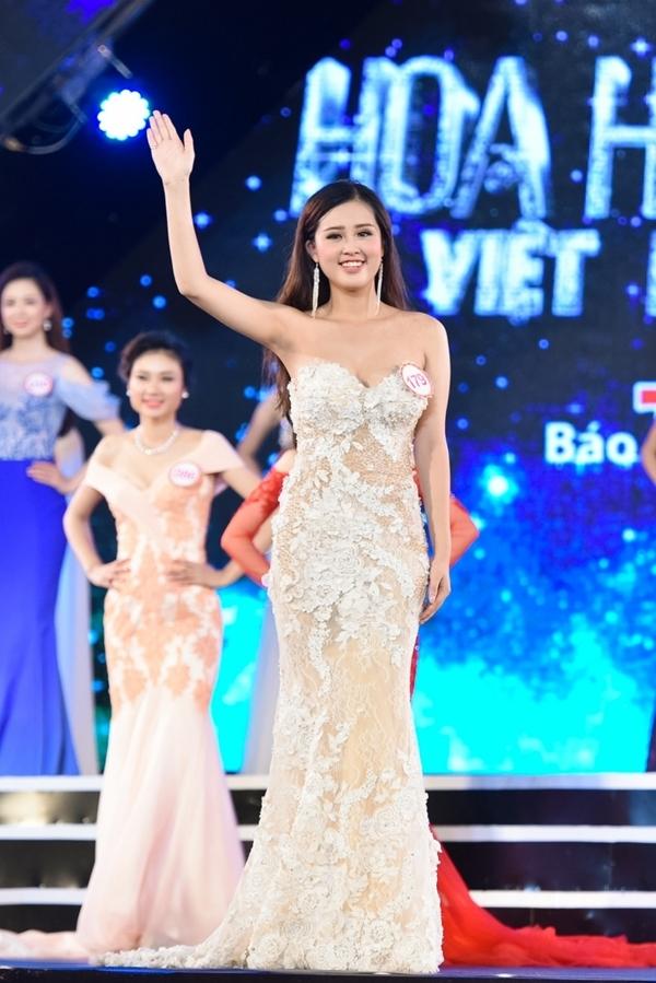 Nguyễn Bảo Ngọc SBD 179 - thí sinh trẻ nhất lọt chung kết Hoa hậu Việt Nam (sinh năm 1998).