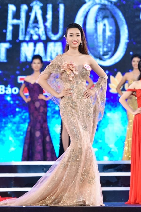 Đỗ Mỹ LinhSBD 145 -Top 15 Hoa hậu Hoàn vũ Việt Nam 2015.