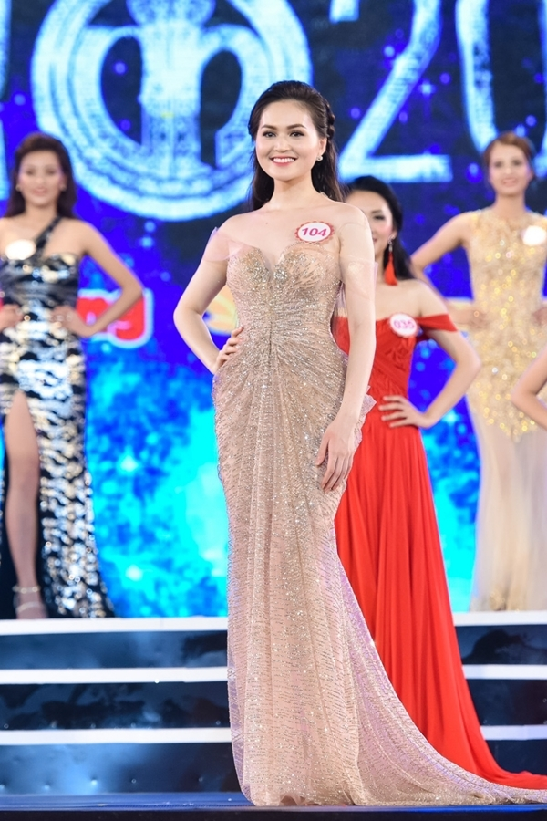 Trần Thị Thu HiềnSBD 104 -Miss Ngôi Sao 2014.