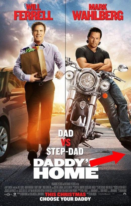 Daddy's Home (2015): Chân của Mark Walhberg đang chống vào đâu thế?