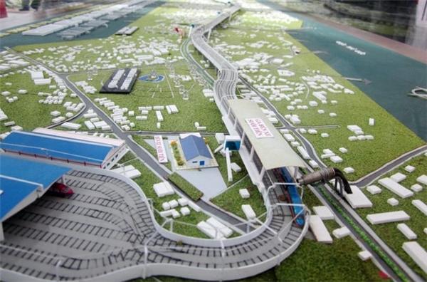 Dự án Metro Bến Thành - Suối Tiên. (Ảnh: internet)