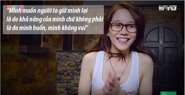 Khi Mai Ngô khóc lóc về hoàn cảnh cá nhân, An Nguy vô cùng cảm thông và ủng hộ Mai Ngô được ở lại. Nhưng cô phản bác cách mà thí sinh đội Lan Khuê tranh đấu.