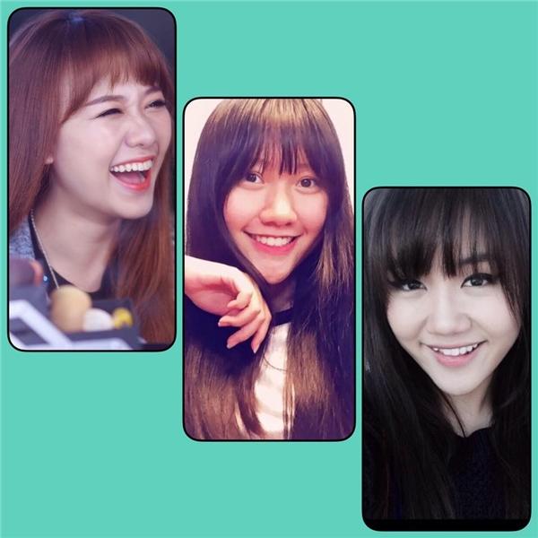 Nụ cười của Hari Won, Văn Mai Hương và em gái Trấn Thành có nhiều nét tương đồng. - Tin sao Viet - Tin tuc sao Viet - Scandal sao Viet - Tin tuc cua Sao - Tin cua Sao