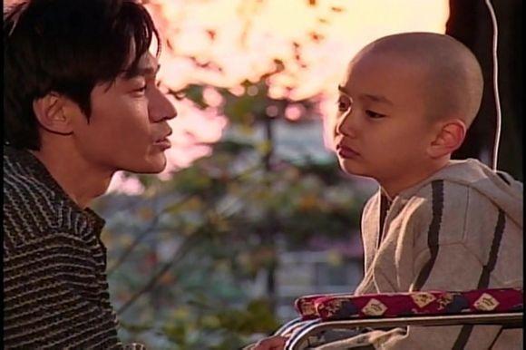 """Yoo Seung Ho và tiền bối Jo Bung Suk trong """"Daddy Fish"""". (Ảnh: Internet)"""