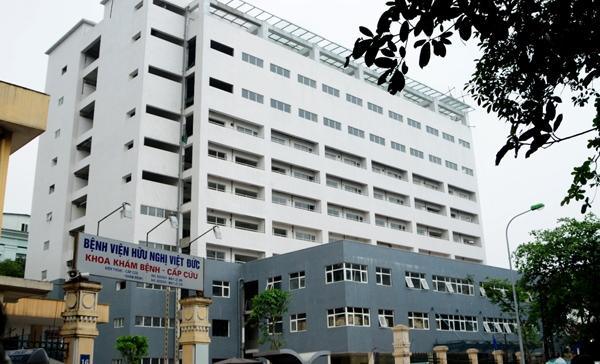 Bệnh viện Việt Đức nơi xảy ra vụ việc đáng tiếc. Ảnh: Internet