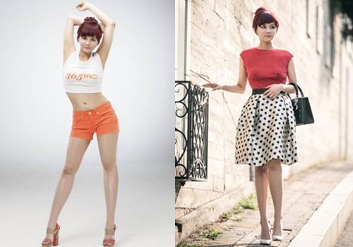 Giờ đây So Young đã tự tin mặc những chiếc váy nữ tính và xinh đẹp.