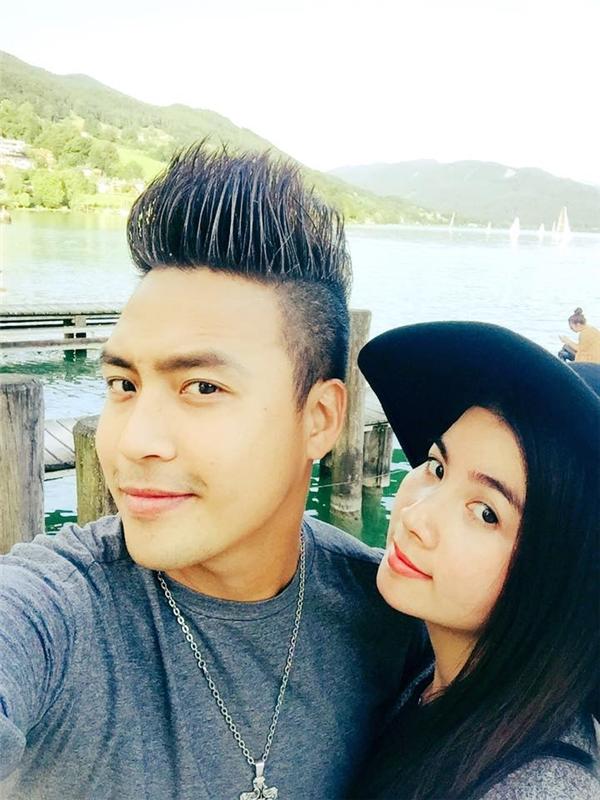 Mới đây, Thanh Duy và Kha Ly đã lên đường sang châu Âu và tận hưởng những khoảnh khắc hạnh phúc đáng mơ ước.
