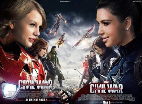 """""""Trận chiến"""": Taylor - Kanye - Kim đang trong hồi gay cấn."""