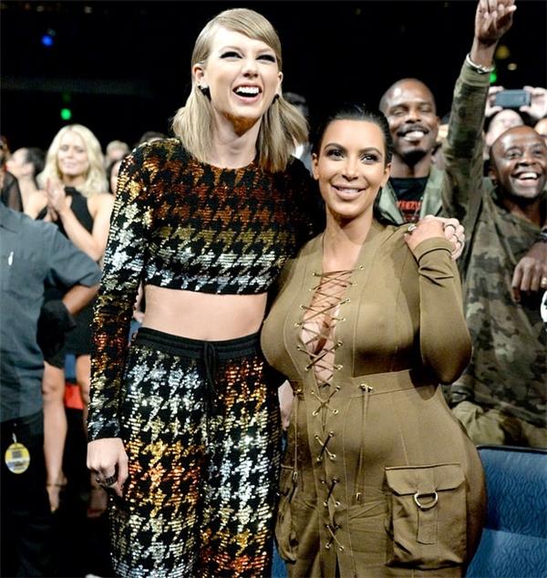 Taylor và Kim đã từng thân thiết trước đây.
