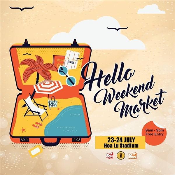 Xách ba lô lên và đi đến Hello Weekend Market