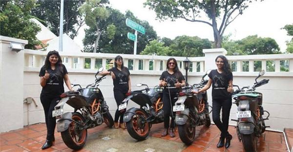 """Dù hành trình đã kết thúc, nhưng nhóm """"Biking Queens"""" vẫn sẽ tiếp tục hoạt động tuyên truyền của mình. (Ảnh Internet)"""