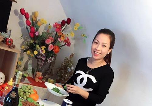 Chị Huệ khi đang đi mua sắm ở Đà Nẵng thì bất ngờ mất tích. Ảnh: Internet