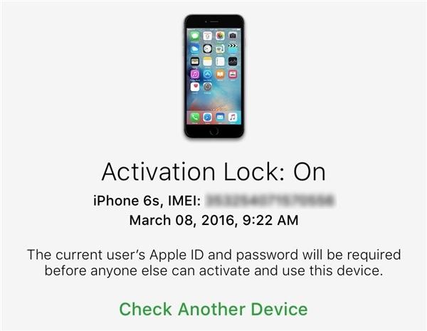 Kiểm tra iCloud trên iPhone. (Ảnh: internet)