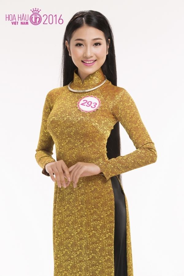 Bùi Nữ Kiều Vỹ (SBD 293): Thí sinh được yêu thích nhất và Miss Hoàn vũ 2016tại cuộc thi Hoa khôi Học sinh – Sinh viêntài năng thanh lịch Đà Nẵng.