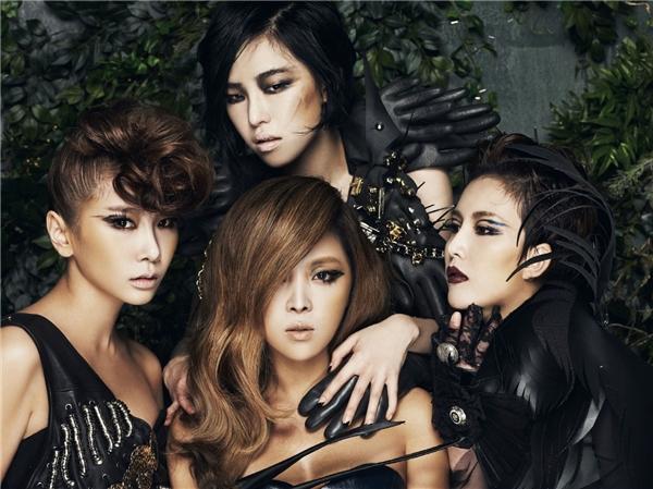 Nhóm nhạc gạo cội Brown Eyed Girls cũng theo đuổi phong cách gợi cảm. (Ảnh: Internet)