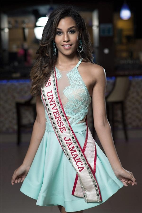 Hoa hậu Hoàn vũJamaica 2015Sharlene Radlein.