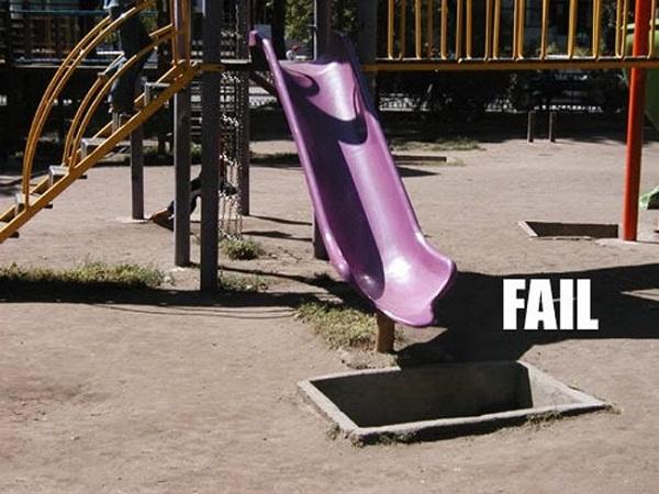 """Hẳn là """"fail"""" thấy rõ vậy mà vẫn có người đang bước lên."""